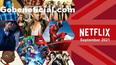 What's Coming to Netflix UK in September 2021